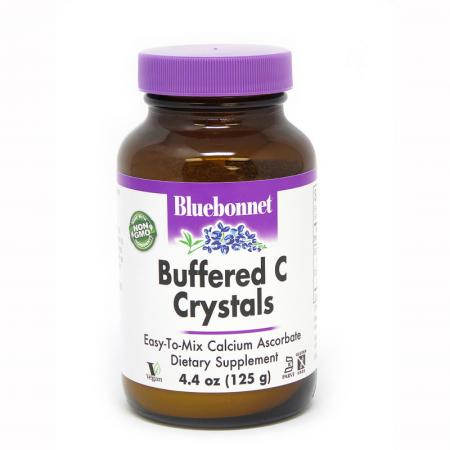 Bluebonnet Nutrition Buffered Vitamin C Crystals, 125 грамм