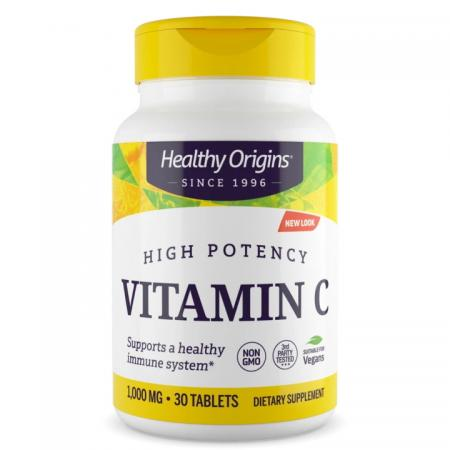 Healthy Origins Vitamin C 1000 mg, 30 таблеток