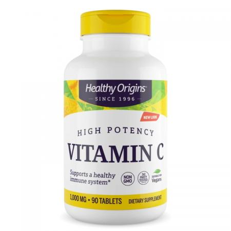 Healthy Origins Vitamin C 1000 mg, 90 таблеток