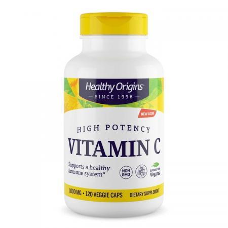 Healthy Origins Vitamin C 1000 mg, 120 капсул