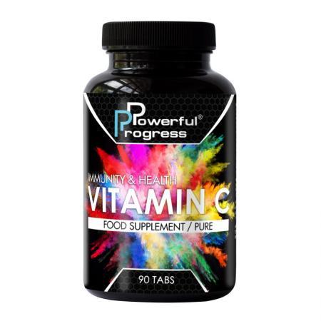 Powerful Progress Vitamin C, 90 капсул
