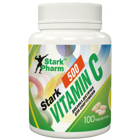 Stark Pharm Stark Vitamin C 500 mg, 100 таблеток