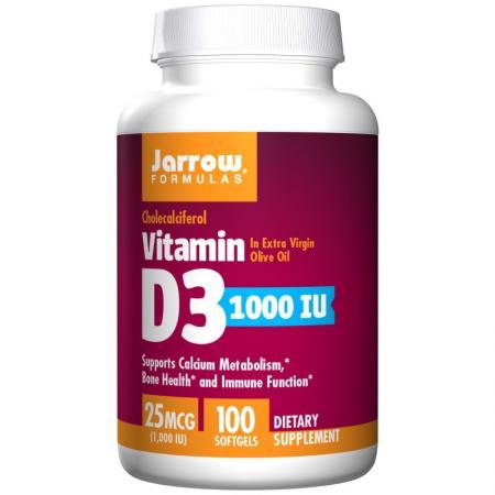 Jarrow Formulas Vitamin D3 400 IU, 100 капсул