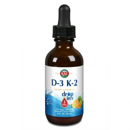 KAL Vitamin D-3 K-2 Drop, 59 мл