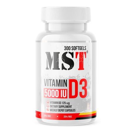 SAN Vitamin D3 5000IU, 360 капсул