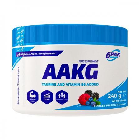 6PAK Nutrition AAKG, 240 грамм