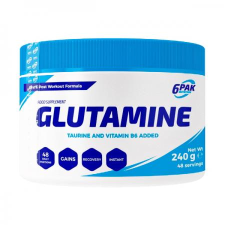 6PAK Nutrition Glutamine, 240 грамм