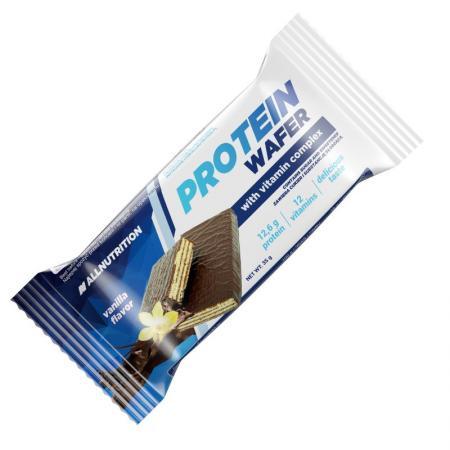 AllNutrition Protein Wafer Bar, 35 грамм - ваниль
