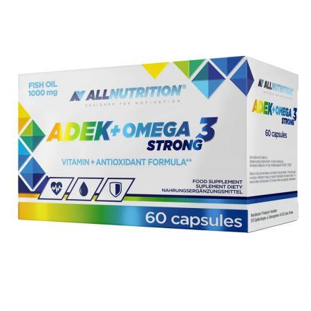 AllNutrition ADEK + Omega 3 Strong, 60 капсул