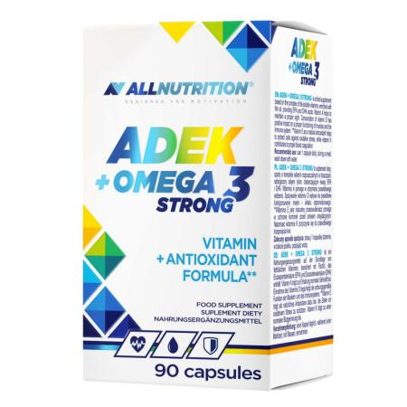 AllNutrition ADEK + Omega 3 Strong, 90 капсул