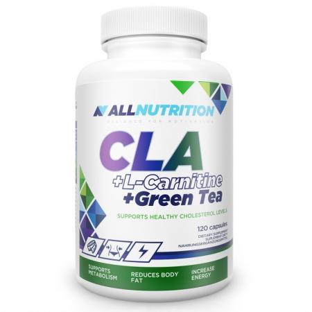 AllNutrition CLA + L-Carnitine + Green Tea, 120 капсул