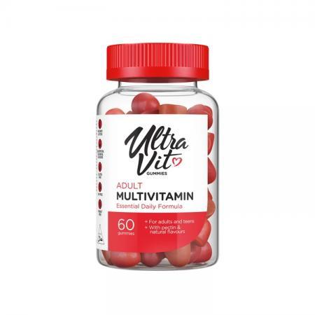 VPLab UltraVit Gummies Adult Multivitamin, 60 таблеток