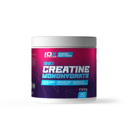 10XNutrition 100% Creatine Monohydrate, 300 грамм