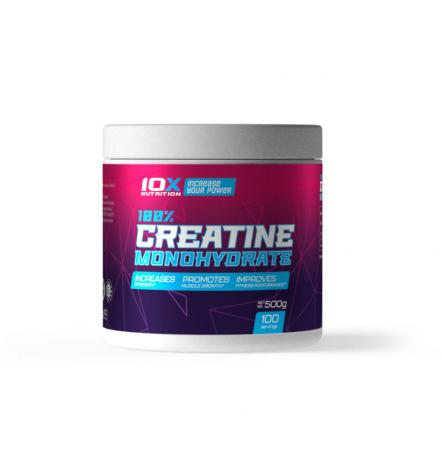 10XNutrition 100% Creatine Monohydrate, 500 грамм