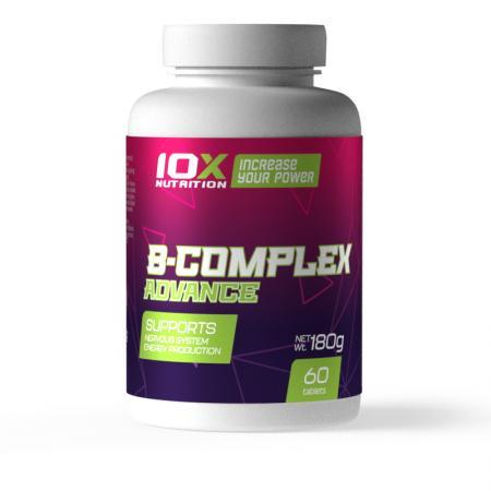 10XNutrition B-Complex Advance, 60 таблеток