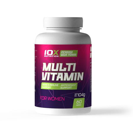 10XNutrition Multivitamin for Women, 60 таблеток