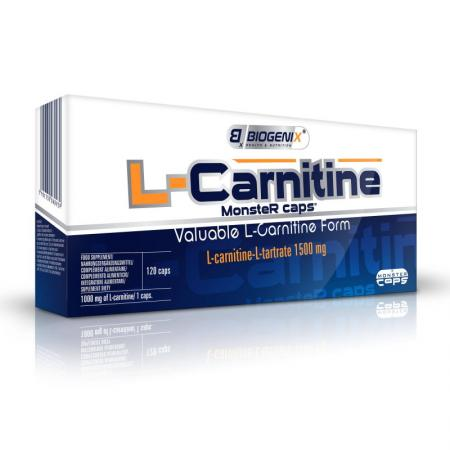 Biogenix L-Carnitine, 120 капсул
