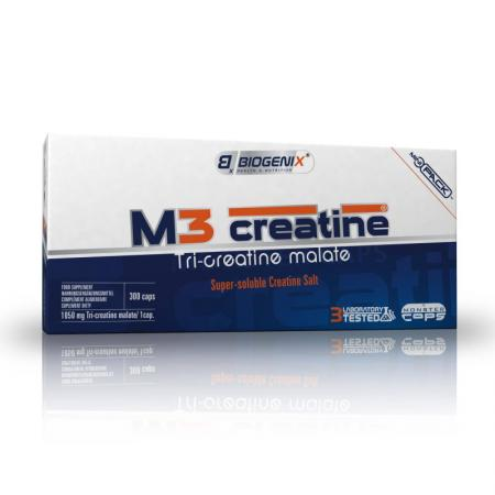 Biogenix M3 Creatine, 300 капсул