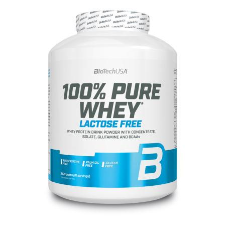 BioTech 100% Pure Whey Lactose Free, 2.27 кг