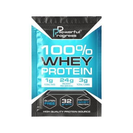Powerful Progress 100% Whey Protein, 32 грамма
