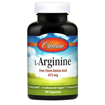 Carlson Labs L-Arginine, 90 капсул