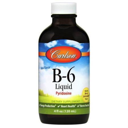 Carlson Labs B-6 Liquid, 120 мл