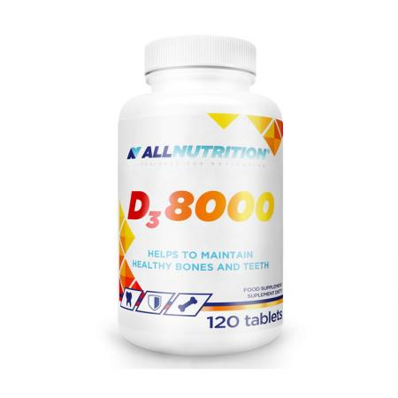 AllNutrition Vitamin D3 8000, 120 таблеток