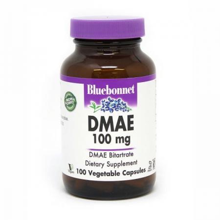 Bluebonnet DMAE 100 mg, 100 вегакапсул