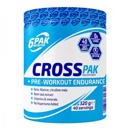 6PAK Nutrition Cross Pak, 320 грамм