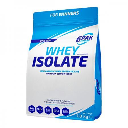 6PAK Nutrition Whey Isolate, 1.8 кг