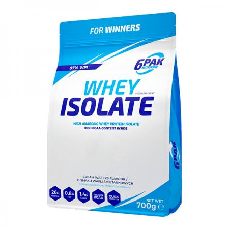 6PAK Nutrition Whey Isolate, 700 грамм
