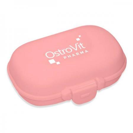 Таблетница OstroVit Pharma, розовая