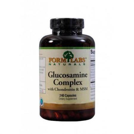 Form Labs Naturals Glucosaminе Complex, 240 капсул