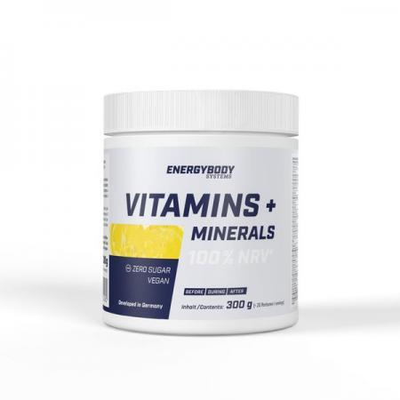 Energybody Vitamins + Minerals, 300 грам