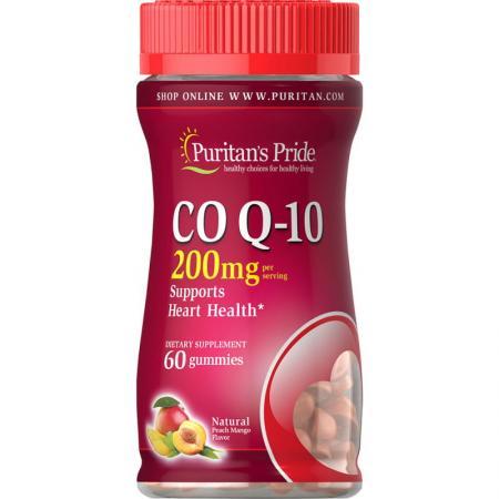 Puritan's Pride CO Q10 200 mg, 60 желеек