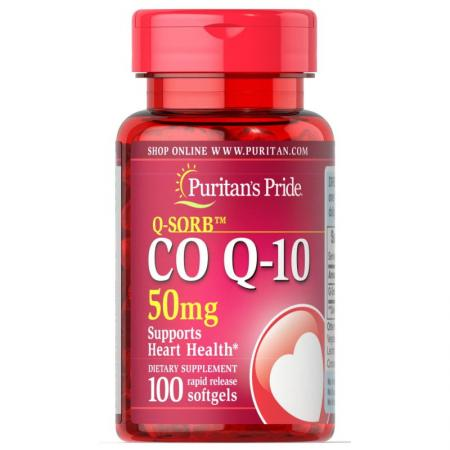Puritan's Pride CO Q10 50 mg, 100 капсул