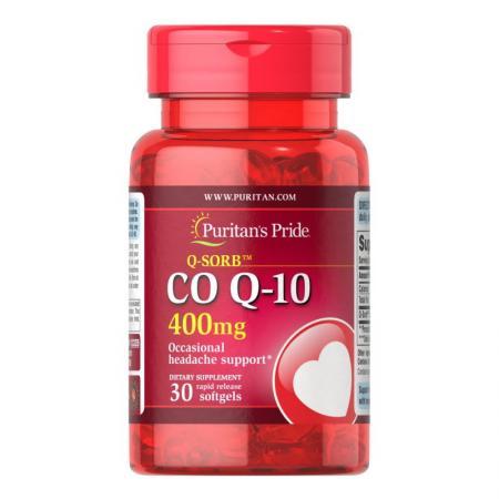 Puritan's Pride CO Q10 400 mg, 30 капсул