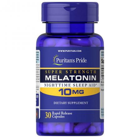 Puritan's Pride Melatonin 10 mg, 60 капсул
