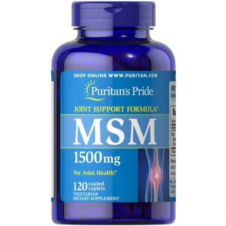 Puritan's Pride MSM 1500 mg, 120 капсул