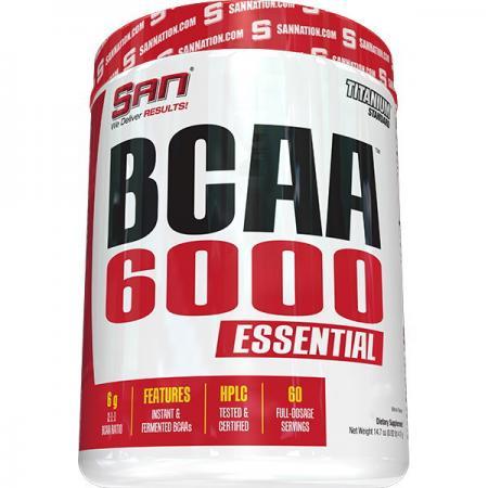 SAN BCAA 6000 2:1:1, 417 грамм