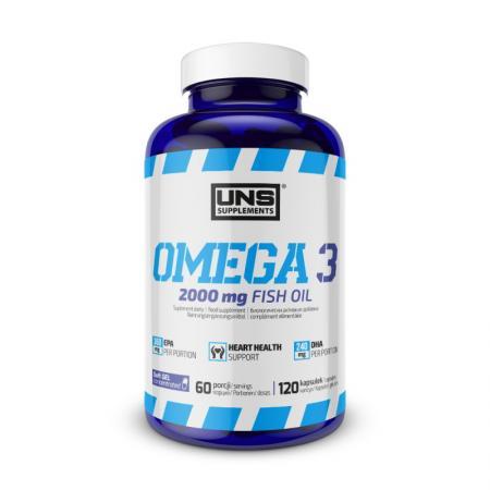 UNS Omega 3, 120 капсул