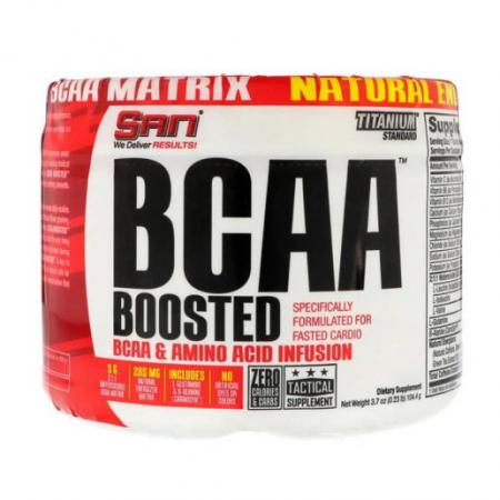 SAN BCAA Boosted, 105 грамм