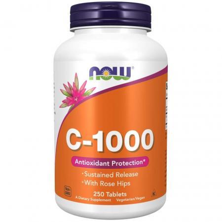 NOW Vitamin C-1000, 250 таблеток