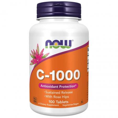 NOW Vitamin C-1000, 100 таблеток
