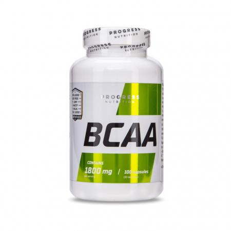 Progress Nutrition BCAA, 100 капсул