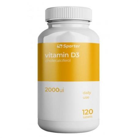 Sporter Vitamin C with Rose Hip, 120 таблеток
