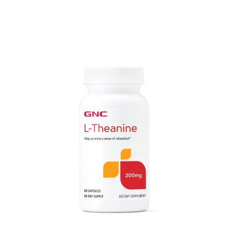 GNC L-Theanine 200 mg, 60 капсул