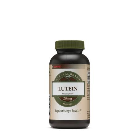 GNC Natural Brand Lutein 20 mg, 60 капсул