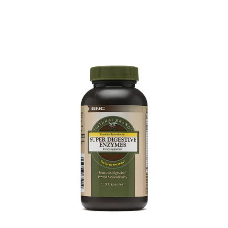 GNC Natural Brand Super Digestive Enzymes, 100 капсул
