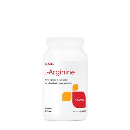 GNC L-Arginine 1000, 90 каплет